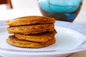 Pumpkin Pancakes. Simply Yummy.